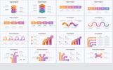 """""""Millionaire-Elegant Infographic Pack 1.1"""" modèle PowerPoint"""