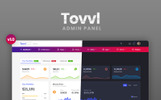 Responsivt Tovvl - Bootstrap 4 Responsive Admin-mall