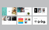 Jones Minimal Presentation PowerPoint Template PowerPoint sablon