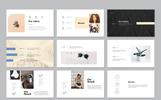 "PowerPoint Vorlage namens ""Black & White Presentation Pack"""