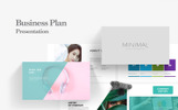 Minimal Business Plan PowerPoint Template