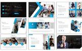 Blue Tech PowerPoint Template