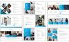 Blue Tech PowerPoint Template Big Screenshot