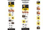 Responsywny szablon Newsletter Black Friday Responsive Email + StampReady Builder #74177