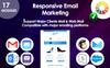 Responsywny szablon Newsletter Email responsive marketing offers #74330 Duży zrzut ekranu