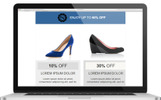 """Email responsive marketing offers"" modèle Bulletin adaptatif"