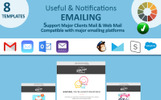Responsivt Useful Notifications Email Newsletter-mall