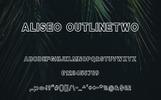 """Шрифт """"Aliseo Font Family - Sans Serif"""""""
