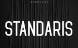 Standaris Font Family - Sans Serif Font