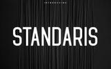 """""""Standaris Font Family - Sans Serif"""" police de caractère"""