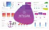 """PowerPoint Vorlage namens """"Integra"""""""