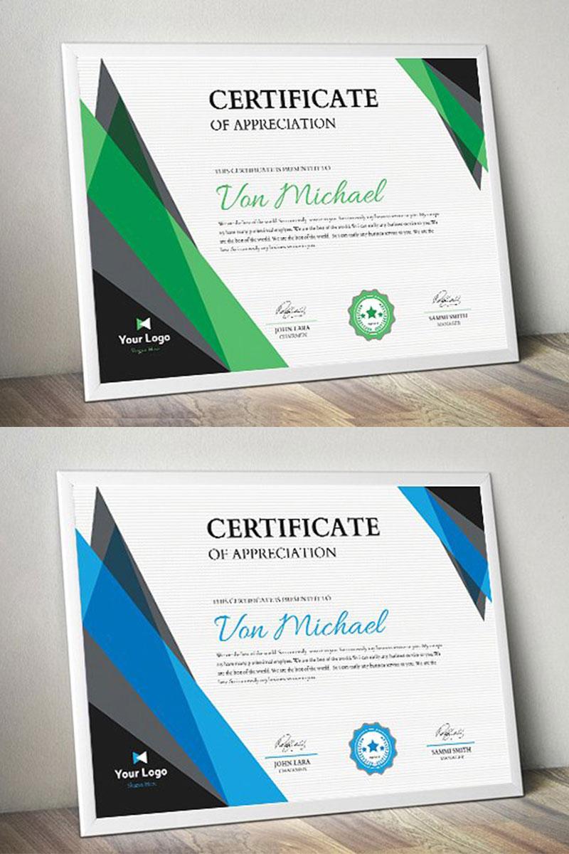 corporate certificate template 74696