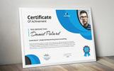 Bubbles Elegant Certificate Template