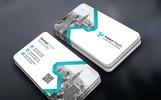 Clean Art & Design Business Card Corporate Identity Template