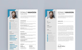 Donald Mahoon - Resume Template