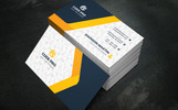 Solgan Business Card Corporate Identity Template