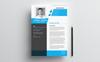 "Lebenslauf-Vorlage namens ""John Smith"" Großer Screenshot"