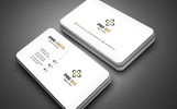 Clean & Clear Business Card Corporate Identity Template