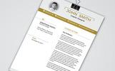 John Smith Resume Template