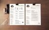 John Smith Modelo de Currículo №78174 Screenshot Grade