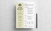 Arton Walker Resume Template Big Screenshot