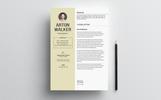 Arton Walker Resume Template