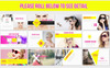 Fashion Magazine - PowerPoint Template Big Screenshot