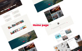 "Modello PSD Responsive #74723 ""TravelUP"""