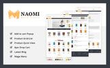 """Responzivní PrestaShop motiv """"Naomi - Book Store"""""""
