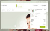 Responsivt Gloriea Spa & Beauty PrestaShop-tema En stor skärmdump