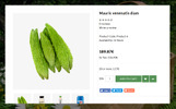Responsive Metro Grocery and Vegetables Opencart Şablon