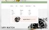 Reszponzív Aelcon PrestaShop sablon Nagy méretű képernyőkép
