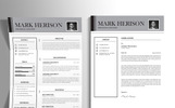"Template CV #75553 ""Mark Herison"""