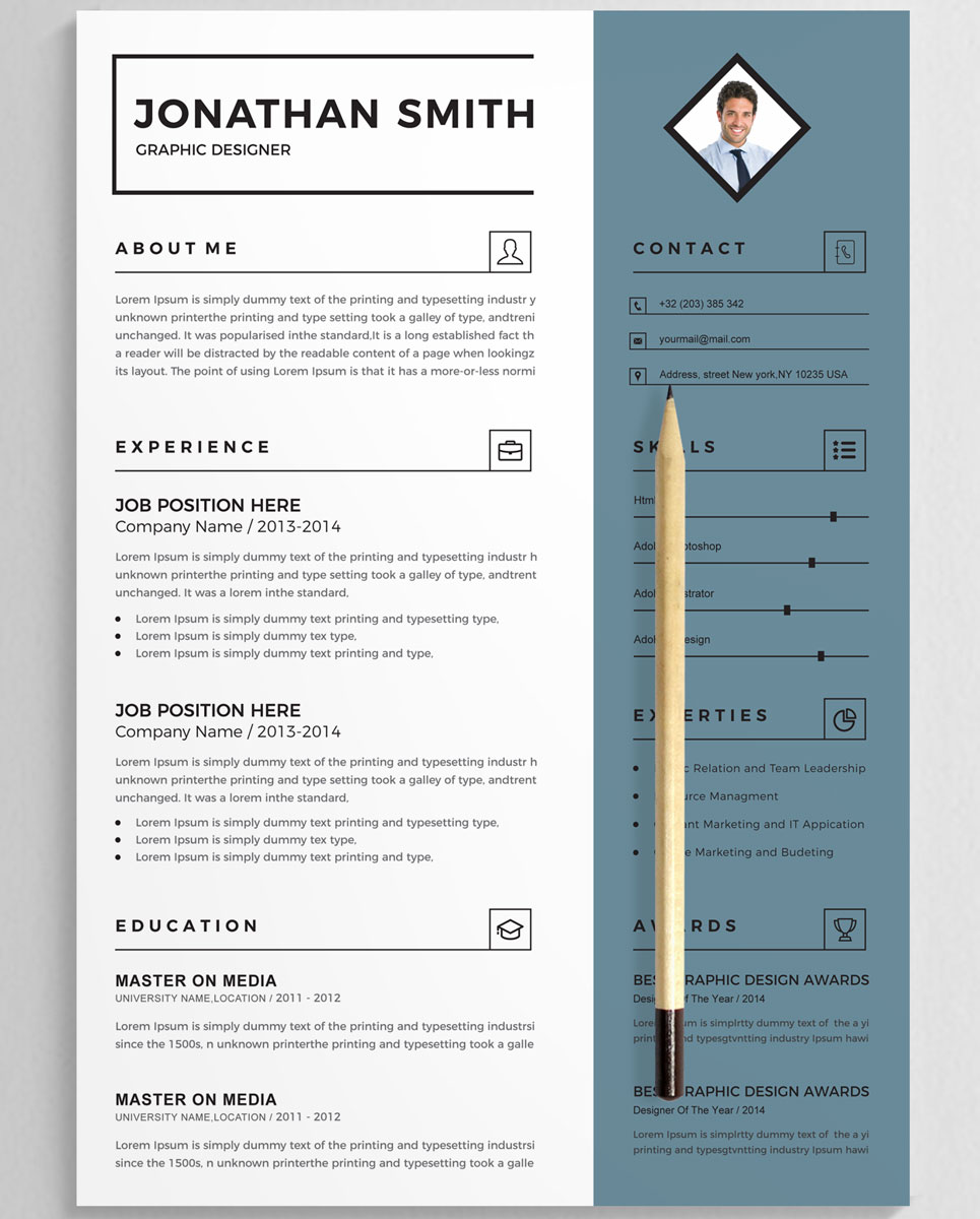 jonathan smith resume template  75963