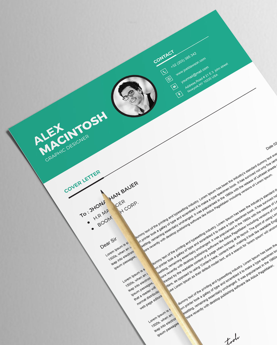 Alex Macintosh Resume Template #79177