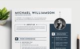 """Michael Williamson"" CV Template"