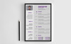 Jonathan Doe CV Resume Template Big Screenshot