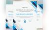 Michael Knight Corporate Modern Certificate Template Big Screenshot