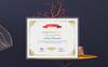 Sophisticated Modern Template de Certificado №80524 Screenshot Grade