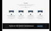 """Kinger - Personal Business Portfolio Landing"" thème WordPress adaptatif Grande capture d'écran"
