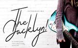 The Jacklyn Signature Font