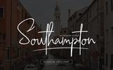 Southampton Signature Style Betűtípus