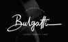 Bulgatti Luxury Script Betűtípus Nagy méretű képernyőkép