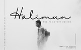 Halimun Script Style Creative Font