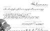 Halimun Script Style Creative Font Big Screenshot