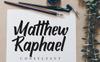"""Schriftart namens """"Attemptyon Sans Serif Typeface"""" Großer Screenshot"""