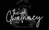 The Gwathmey Signature Script Font Big Screenshot