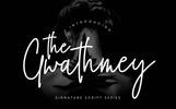 The Gwathmey Signature Script Font