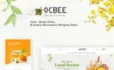 """Ocbee - Honey Bee Production"" WooCommerce模板"