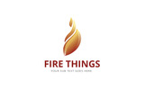 Fire Things Logo Template